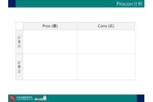 企業用 Procon分析 PPT下載